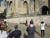 rallye-team-building-theatre-Avignon par animateur-evenementiel.fr , organisation de team building sur Avignon