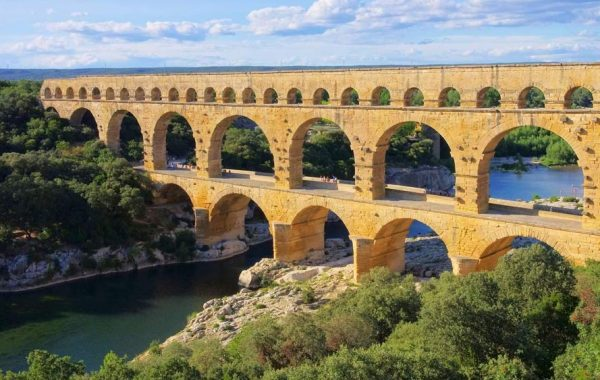 Team building Pont du Gard